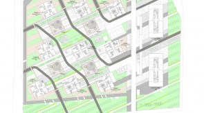 北京建外SOHO-总平面图