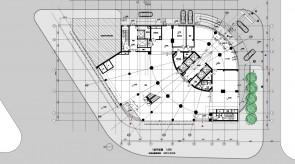 海泰国际大厦-1F平面