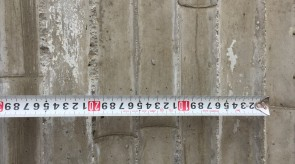 竹模板混凝土样板